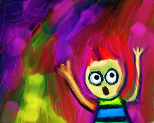 cartoon child bright paints-web